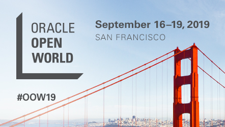 Klee est présent à Oracle Open World 2019, San Francisco, 16-19 Sept. 2019 #OOW19